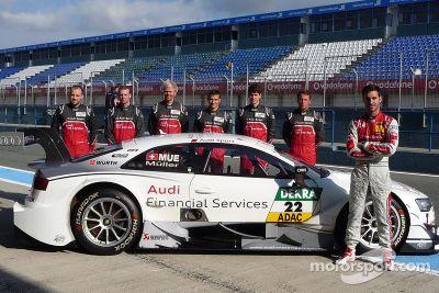 Pruebas de Audi en diciembre
