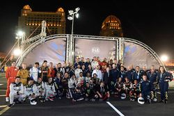 FIA karting challenge drivers