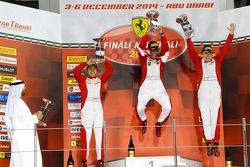 法拉利亚太/北美挑战赛第一回合领奖台-壳牌杯冠军:塔尼·汉纳