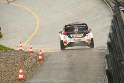 罗伯特·库比卡,和Alessandra Benedetti, 福特嘉年华 WRC