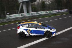 Mario Cordoni y Gilberto Calleri, Ford Fiesta WRC