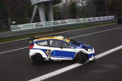 Mario Cordoni and Gilberto Calleri, Ford Fiesta WRC