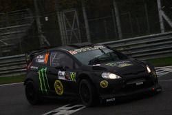 Kurt Busch en Rihanon Gelsomino, Ford Fiesta WRC