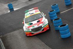 Paolo Andreucci en Anna Andreucci, Peugeot 208 T16