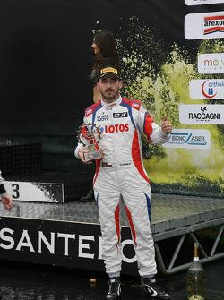 Winner Robert Kubica