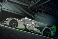 Rendering of the LAS Motorsport LMP3