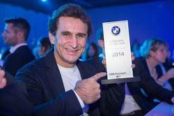 Alex Zanardi receives the Comeback of the Year award
