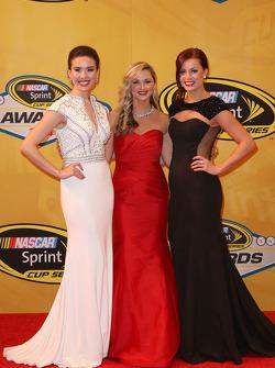 Miss Sprint Cups Julianna White, Kim Coon, et Madison Martin