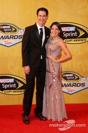 Joey Logano e Brittany Baca