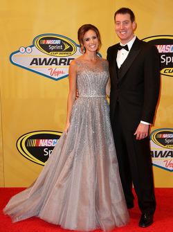 Kyle Busch et sa femme Samantha
