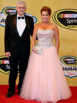 NASCAR - Leonard Wood et Lori Banks