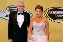 NASCAR Hall of Fame: Leonard Wood e Lori Banks
