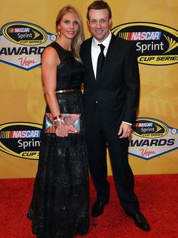 Matt Kenseth et sa femme Katie