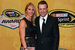 Matt Kenseth e sua esposa Katie