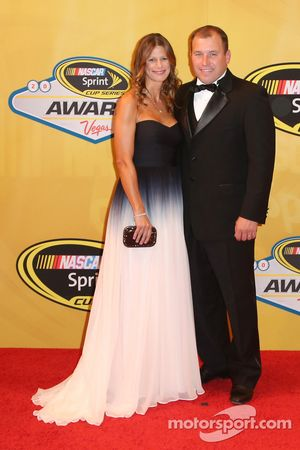 Ryan Newman and his wife Krissie