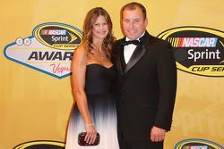 Ryan Newman et sa femme Krissie