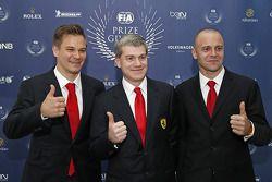 Toni Vilander and Gianmaria Bruni, Ferrari