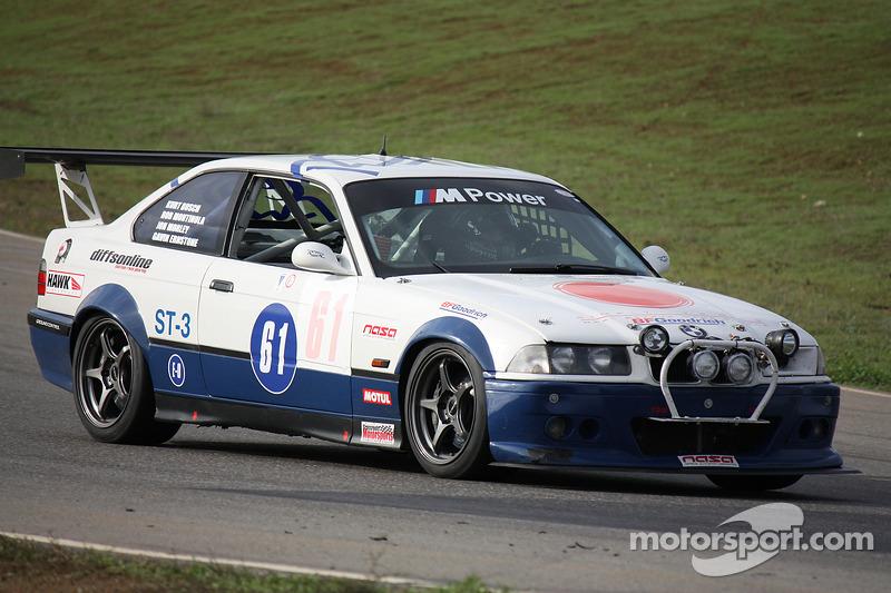 #61 BF Goodrich Road Shagger Racing BMW M3: Gavin Ernstone, Jon Morley, Robbie Montinola, Kurt Busch