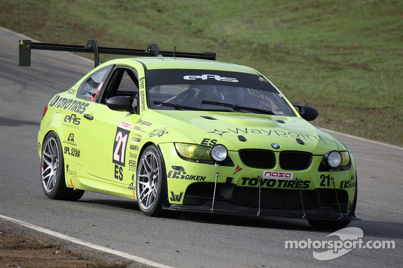 #21 Yost Autosport 宝马 E92 M3: Barry Yost, Jordan Yost, Mike Bonanni