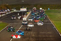 Start: #17 Davidson Racing Norma M20F BMW: Alex Lloyd, Bob Davidson, Brian Frisselle, Kyle Marcelli,