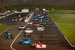 Largada: #17 Davidson Racing Norma M20F BMW: Alex Lloyd, Bob Davidson, Brian Frisselle, Kyle Marcell