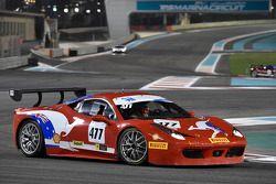 #477 Barbagallo Ferrari 458: Steve Wyatt