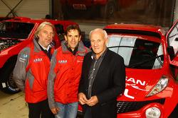 Thierry Magnaldi y el dueño de equipo André Dessoude