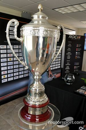 The Race of Champions trophy