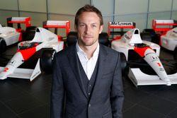 Дженсон Баттон. Объявление пилотов McLaren, Особое мероприятие.