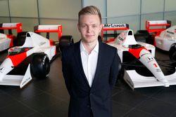 Kevin Magnussen, derde rijder McLaren Honda