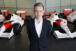 Кевин Магнуссен. Объявление пилотов McLaren, Особое мероприятие.