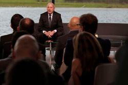 Ron Dennis, voorzitter & CEO van McLaren