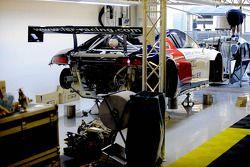 Préparatifs chez Audi