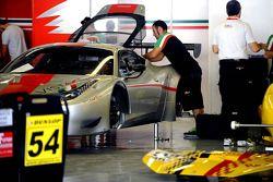 Ferrari se prépare