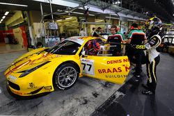 #77 AF Corse Ferrari 458 GT3: Adrien de Leneer, Cedric Sbirrazzuoli, David Akhobadze
