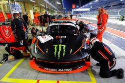 #99 Kessel Racing Ferrari 458 GT3: Jorge Lorenzo, Liam Talbot, Marco Zanuttini, Jacques Duyver