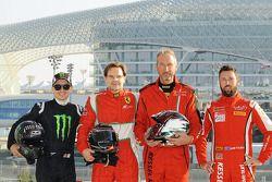 Jorge Lorenzo, Liam Talbot, Marco Zanuttini, Jacques Duyver