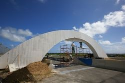 Track building in progress