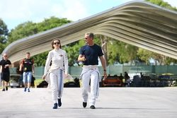 Susie Wolff ve David Coulthard