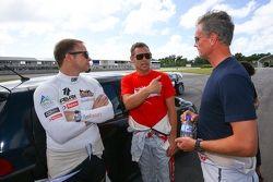 Petter Solberg, Tom Kristensen, David Coulthard