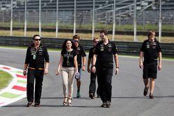 TW Steel avec l'équipe Force India