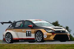 #11 Formula Racing Seat Leon: Jose Antonio Monroy, Mikkel Mac, Lars Steffensen, Bo McCormick, Johnn