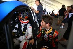Jose Maria Lopez ve Romain Grosjean