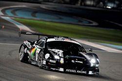 #11 Kessel Racing Ferrari 458 GT3: Вадим Гитлин, Марко Фрецца, Исаак Тумумлу