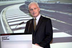 Porsche President en Chief Executive Officer. Matthias Müller