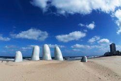 Art sur la plage