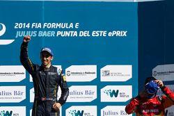 El ganador Sebastien Buemi, e.dams-Renault