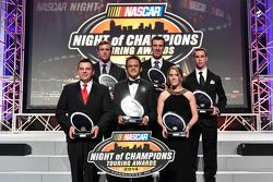 Andy Seuss, Brandon McReynolds, Rodrigo Marban, J.R. Fitzpatrick, Melissa Fiffield and Ben Rhodes re