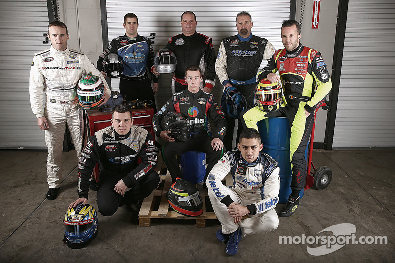Louis-Philippe Dumoulin, Andy Seuss, Doug Coby, Anthony Anders, Ben Rhodes, Greg Pursley, Abraham Ca
