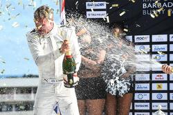 Winner David Coulthard